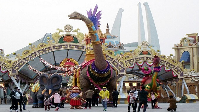 Changzhou Global Dinosaur Town 常州环球恐龙城