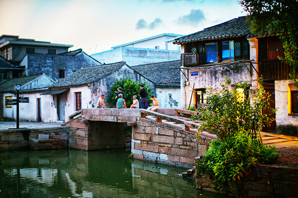 Huishan Ancient Town 惠山古镇